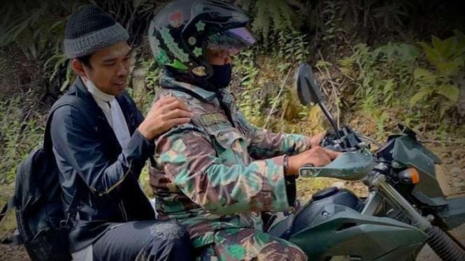 VIVA Militer: Ustaz Somad diselamatkan prajurit TNI.
