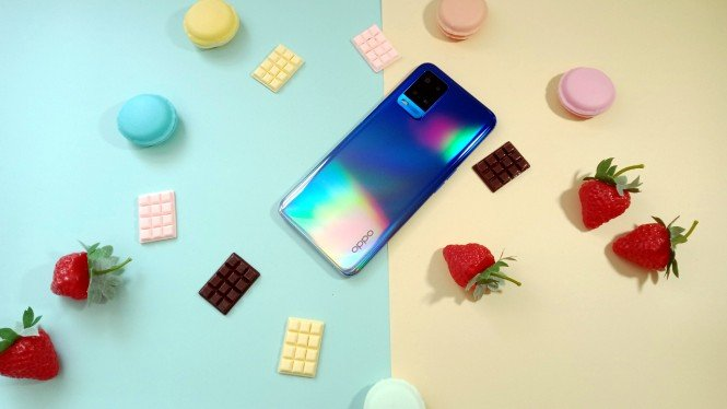 Ponsel Oppo A54
