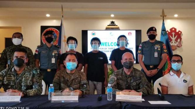 VIVA Militer: Tim penyelamatan 4 WNI korban penculikan kelompok Abu Sayyaf