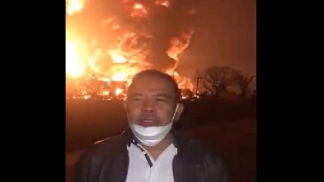 Kepala Dinas Pemadam Kebakaran Indramayu yang viral