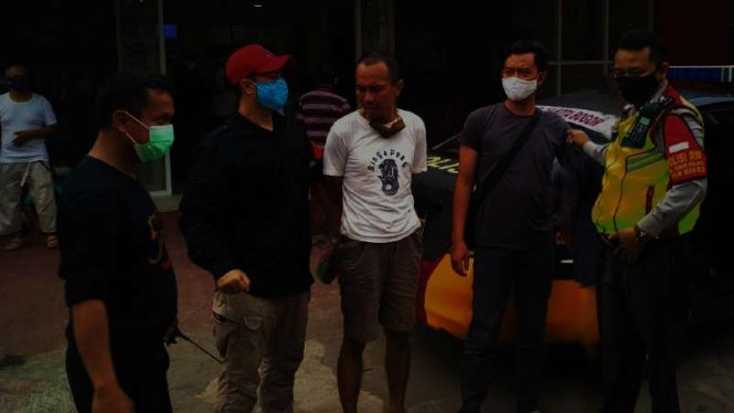 VIVA Militer: TNI tangkap orang tak dikenal panjat pagar Istana Bogor