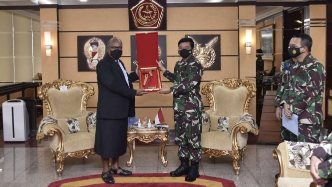 VIVA Militer: Panglima TNI terima kunjungan kehormatan LBPP RI Republik Fiji