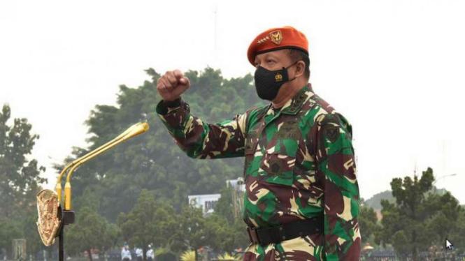 VIVA Militer: KSAU Marsekal TNI Fadjar Prasetyo di Mako Korpaskhas