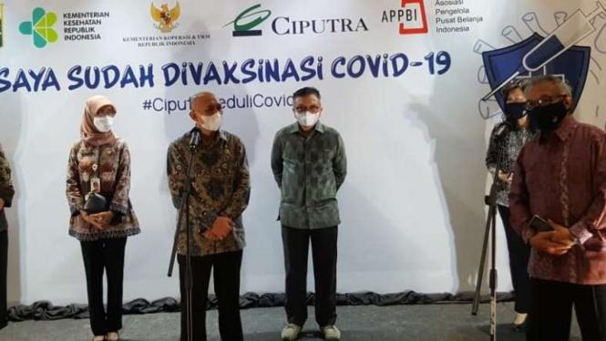 Menteri Teten Targetkan Vaksinasi 64 Juta UMKM di Indonesia