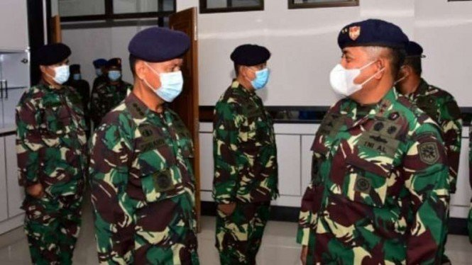 VIVA Militer: Pangkoarmada III ucapkan selamat kepada 15 Perwira naik pangkat
