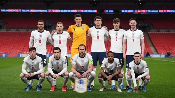 Profil Timnas Inggris di EURO 2020, Football's Coming Home?