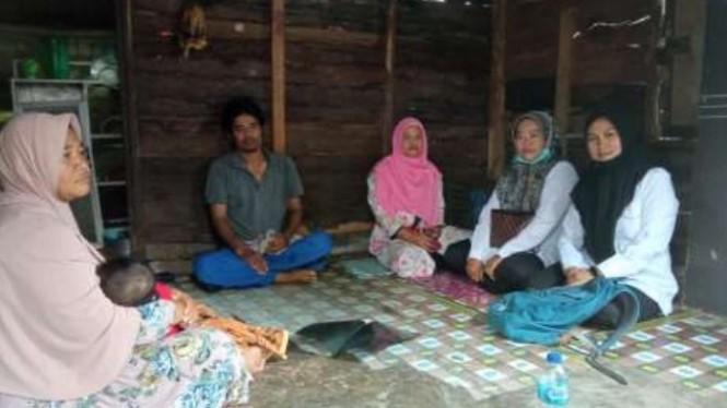 Layanan ATENSI terhadap Sofyan Marzuki, 43 tahun.