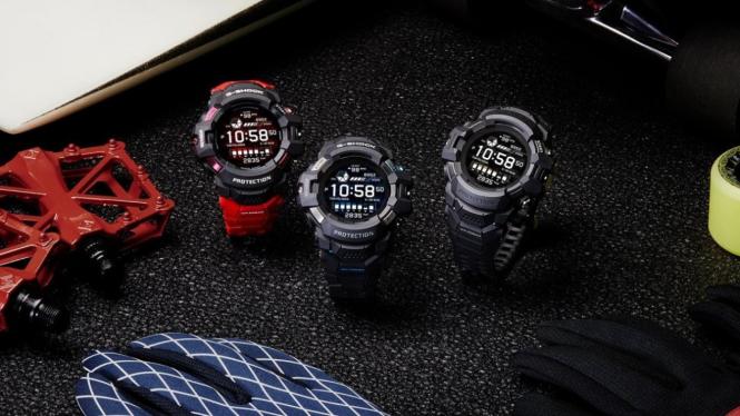 Jam tangan pintar Casio GSW-H1000.