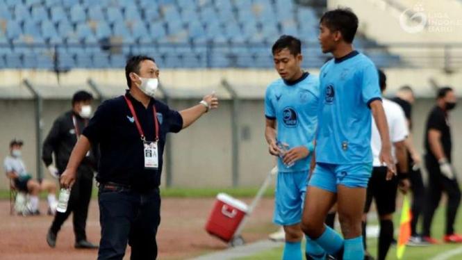 Pelatih Persela Lamongan, Didik Ludiyanto.