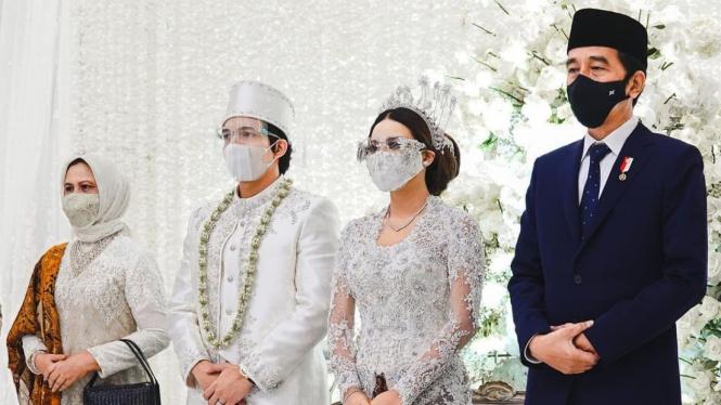 Pernikahan Atta Halilintar-Aurel Hermansyah dihadiri Presiden Joko Widodo