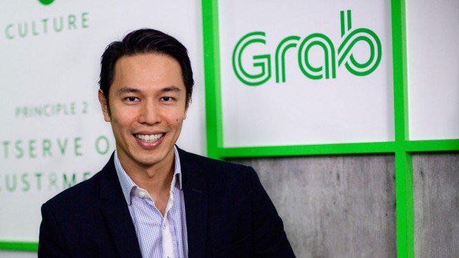 Senior Managing Director Grab Financial Group, Reuben Lai.