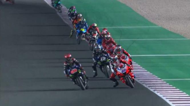 Balapan MotoGP Doha.
