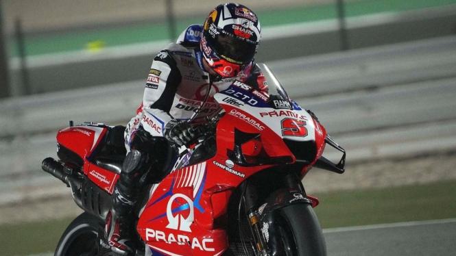 Pembalap Pramac Racing Ducati, Johann Zarco.