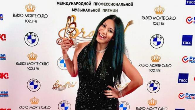 Anggun raih penghargaan Bravo International Classical Music Awards