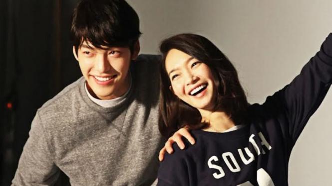 Kim Woo Bin dan Shin Min Ah.