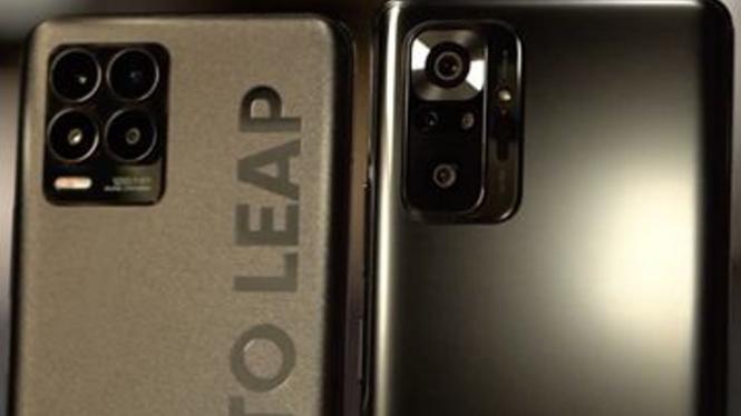 Realme 8 Pro vs Redmi Note 10 Pro Max.