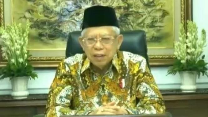 Wakil Presiden Republik Indonesia, Maruf Amin.