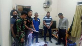Penggeledahan rumah penipu masuk TNI tanpa tes