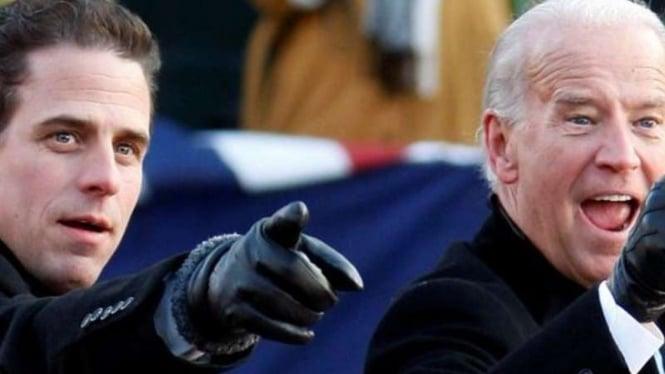 Hunter Biden dan ayahnya Joe Biden