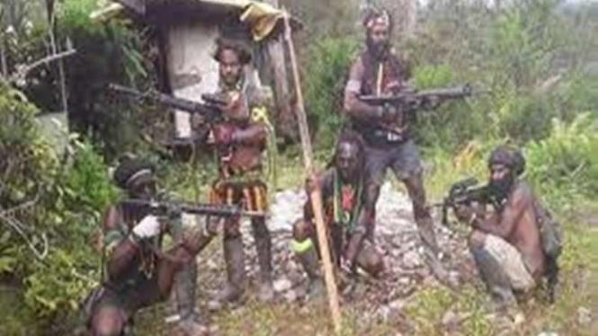 Kelompok Kriminal Bersenjata (KKB) Papua/ilustrasi