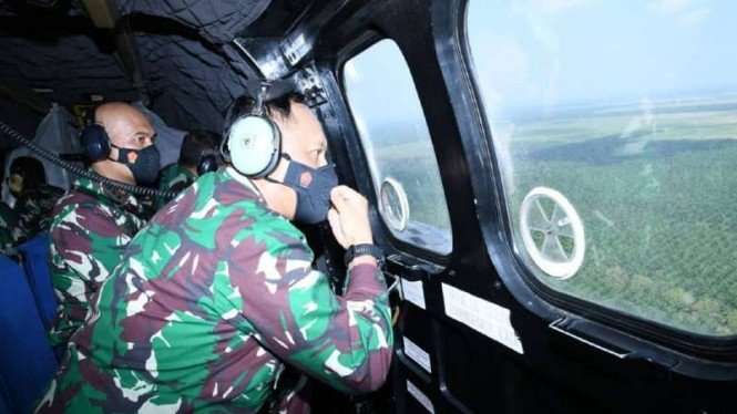 VIVA Militer: KSAU tinjau lokasi pembangunan Lanud TNI AU di Deli Serdang