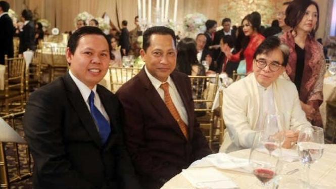 Wakil Ketua DPD RI, Sultan B Najamudin (kiri)