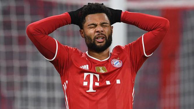 Winger Bayern Munich, Serge Gnabry.
