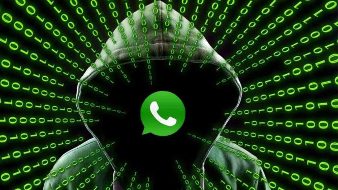 Ilustrasi WhatsApp teror pengguna.