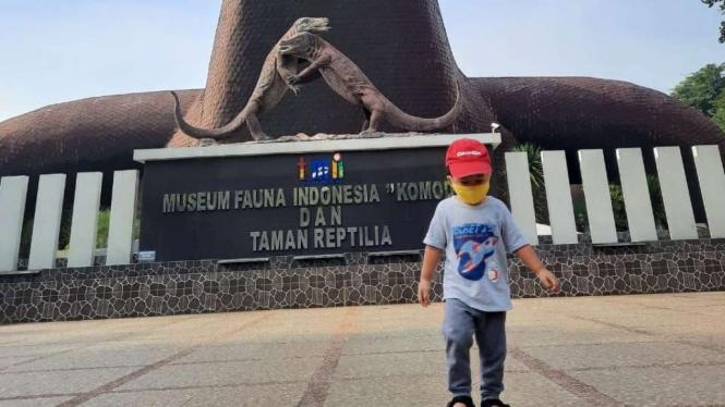 Museum Komodo di Taman Mini Indonesia Indah (TMII).