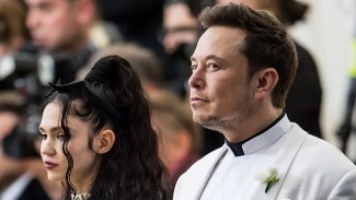 Grimes dan Elon Musk.