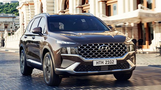 Hyundai Santa Fe edisi 2021.
