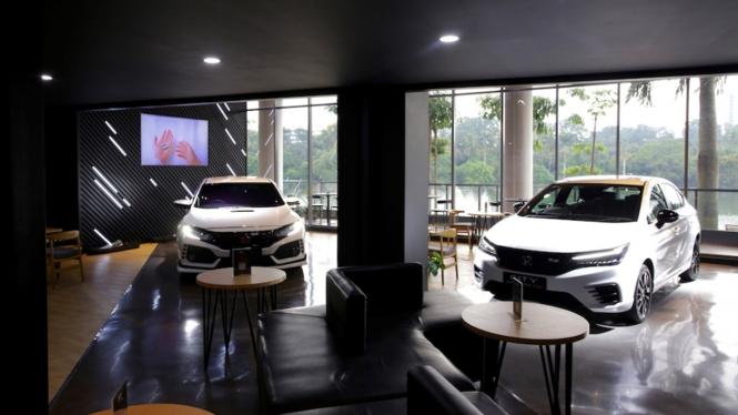 Honda Dreams Cafe di Senayan Park Jakarta