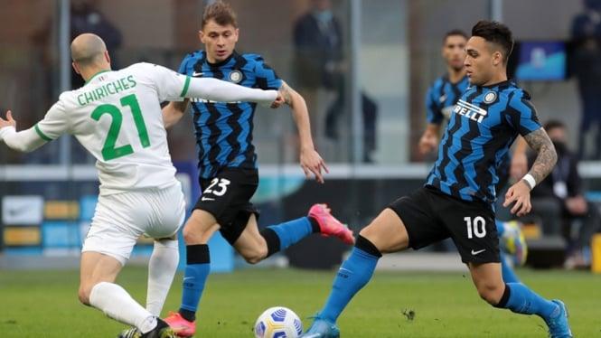 Pertandingan Inter Milan vs Sassuolo