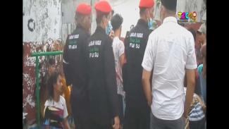 Pertunjukan kuda lumping di Medan dibubarkan ormas.