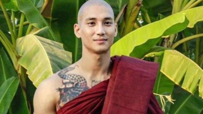 Model dan aktor Myanmar Paing Takhon