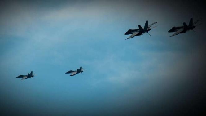 VIVA Militer: Pesawat tempur Malaysia dan Amerika.