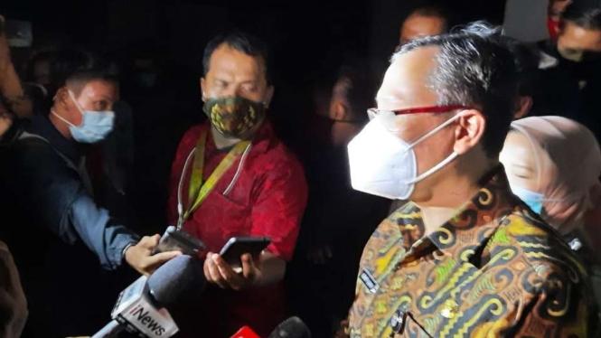 Wali Kota Jakarta Pusat Dhany Sukma.