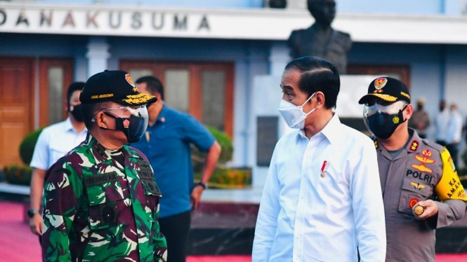 Presiden Jokowi bertolak ke NTT dari Bandara Halim Perdanakusuma