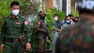 VIVA Militer: Tentara Myanmar tangkap warga sipil yang ibadah di gereja