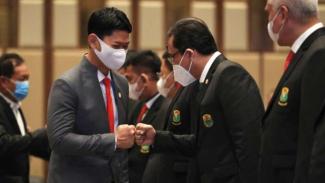 Ketua NOC Indonesia, Raja Sapta Oktohari.