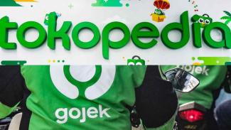 Gojek dan Tokopedia.