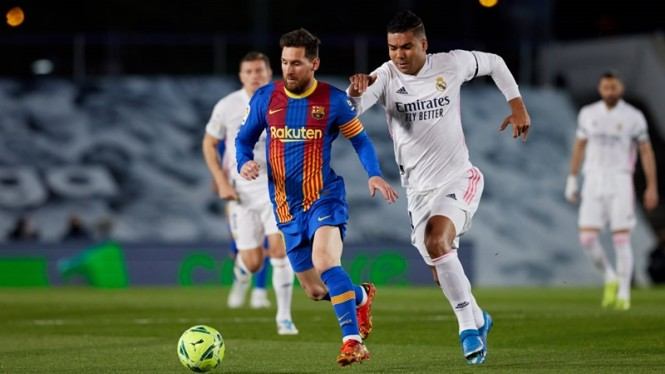 Pertandingan Real Madrid vs Barcelona