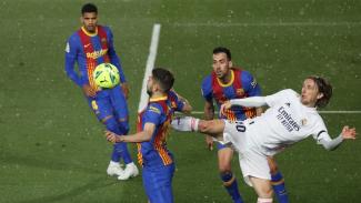 Pertandingan El Clasico antara Real Madrid vs Barcelona