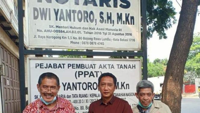 3 Wartawan Bangkotan (dok foto Nur Terbit)