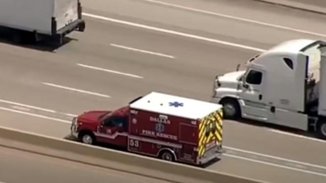 Pencurian mobil ambulans di AS