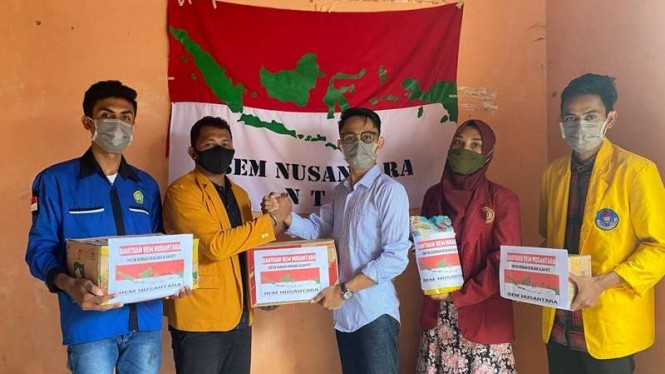 BEM Nusantara mengirimkan bantuan untuk korban bencana di NTT