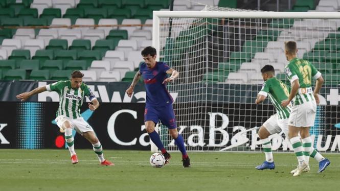 Pertandingan antara Real Betis vs Atletico Madrid