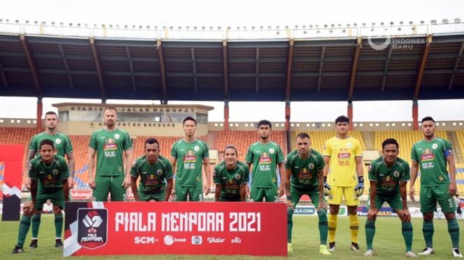 Skuad PSS Sleman di Piala Menpora 2021