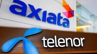 Operator telekomunikasi Axiata dan Telenor Asia.