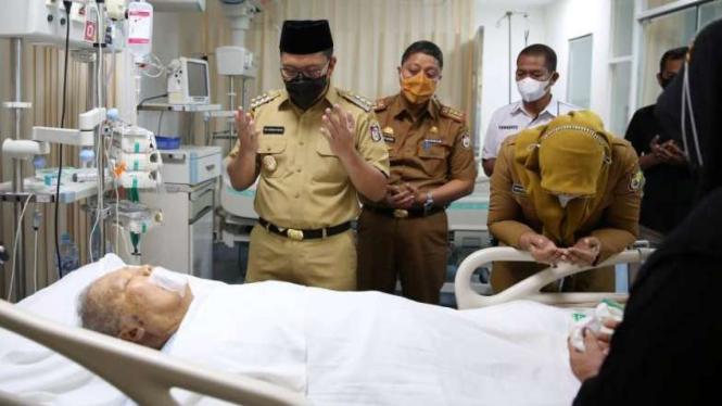 Wali Kota Makassar, Mohammad Ramdhan Pomanto, mendoakan almarhum Malik B Masri.